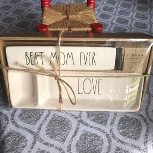 Rae Dunn BEST MOM EVER Desk Sets